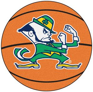 Fan Mats Notre Dame Fighting Irish Basketball Mat