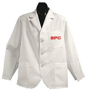Brewton Parker College White Short Labcoats