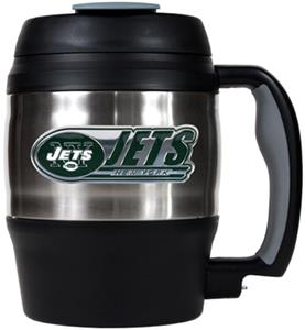 NFL New York Jets 52oz Macho Travel Mug