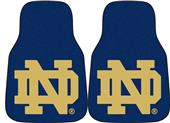 Fan Mats Notre Dame Carpet Car Mats (set)