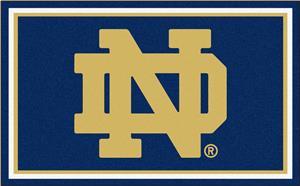 Fan Mats Notre Dame 4x6 Rug