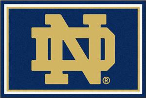 Fan Mats Notre Dame 5x8 Rug