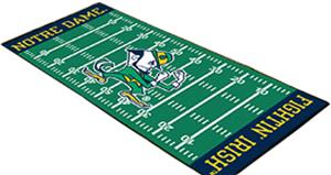Fan Mats Notre Dame Football Field Runner