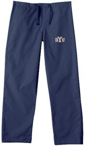 Brigham Young University Navy Classic Scrub Pants