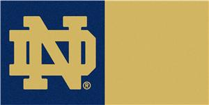 Fan Mats Notre Dame Carpet Tiles