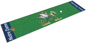 Fan Mats Notre Dame Putting Green Mat