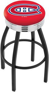 Montreal Canadiens NHL Ribbed Ring Bar Stool