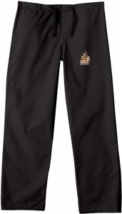 Univ of Central Florida Black Classic Scrub Pants