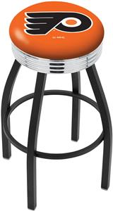 Philadelphia Flyers Orn NHL Ribbed Ring Bar Stool