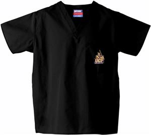 Univ of Central Florida Black Classic Scrub Tops
