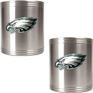NFL Philadelphia Eagles Stainless Can Holders