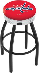 Washington Capitals NHL Ribbed Ring Bar Stool