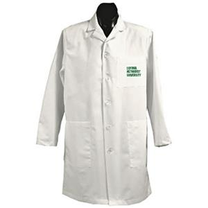 Central Methodist Univ White Long Labcoats