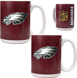 NFL Philadelphia Eagles Gameball Mug (Set of 2)