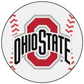 Fan Mats Ohio State University Baseball Mat