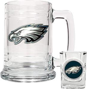 NFL Philadelphia Eagles Boilermaker Gift Set