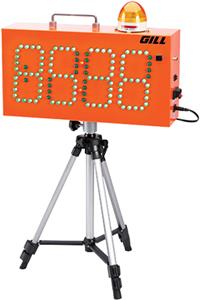 Gill Athletics Countdown Timer/Wind Indicator