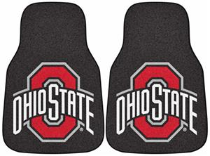 Fan Mats Ohio State University Carpet Car Mats