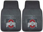 Fan Mats Ohio State Univ Vinyl Car Mats (set)