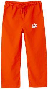 Clemson University Kid's Orange Scrub Pants