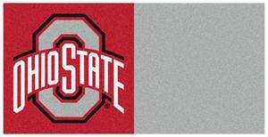 Fan Mats Ohio State University Carpet Tiles