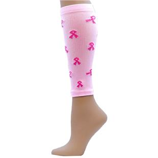 Red Lion Pink Ribbon Compression Leg Sleeves