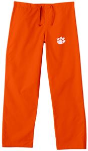 Clemson University Orange Classic Scrub Pants