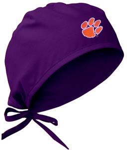 Clemson University Purple Surgical Caps