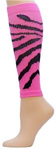 Red Lion Pink Tiger/Zebra Compression Leg Sleeves