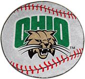Fan Mats Ohio University Baseball Mat