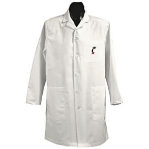 University of Cincinnati White Long Labcoats