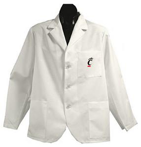 University of Cincinnati White Short Labcoats