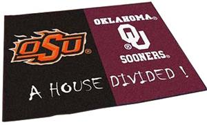 Fan Mats OSU/OU House Divided Mat