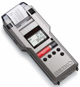 Gill Athletics Seiko S149 Stopwatch & Printer