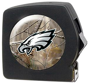 NFL Philadelphia Eagles 25' RealTree Tape Measure