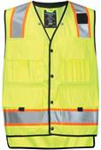TRI MOUNTAIN Level Class 2 Surveyor's Vest
