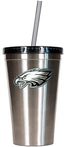 NFL Philadelphia Eagles 16oz Tumbler with Straw
