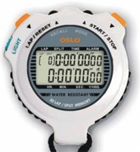 Gill Athletics Robic Silver 30 Stopwatch