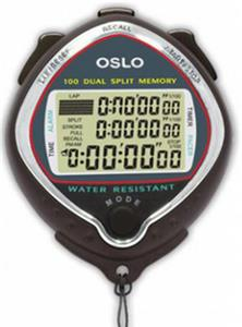 Gill Athletics Robic Silver 100 Stopwatch
