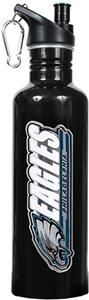 NFL Philadelphia Eagles Black Water Bottle