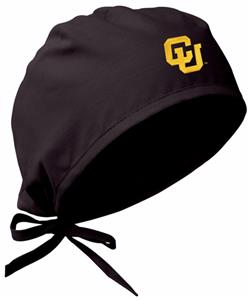 University of Colorado Black Surgical Caps