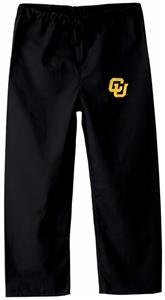 University of Colorado Kid&#39;s Black Scrub Pants