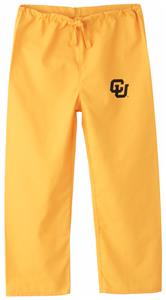 University of Colorado Kid's Gold Scrub Pants