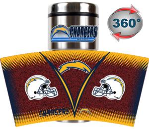 NFL San Diego Chargers Tumbler (Logo & Team Name)