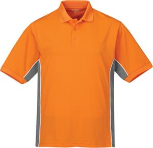 TRI MOUNTAIN GT-2 Tri-Color Moisture Wicking Polo
