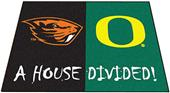 Fan Mats Oregon/Oregon State House Divided Mat