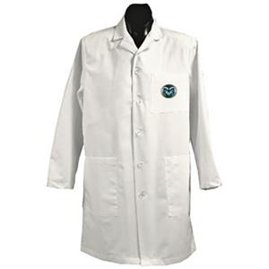 Colorado State University White Long Labcoats
