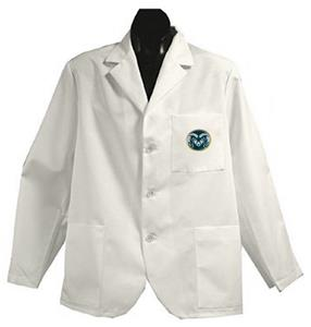Colorado State University White Short Labcoats