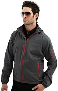 TRI MOUNTAIN CF-1 Lightweight Hooded Shell Jacket