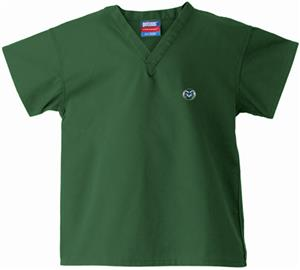 Colorado State Univ Kid's Hunter Scrub Tops